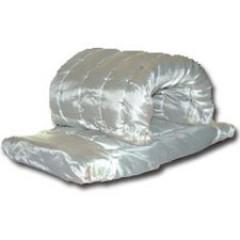Маты прошивные МП(СТ)-100 из минеральной ваты, с обкладкой из стеклоткани с двух сторон
