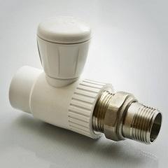 Кран шаровый ПП для радиатора прямой