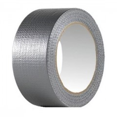 Скотч ТПЛ  армированный  серебристо-серый, шир. 48 мм., дл. 50 п.м.