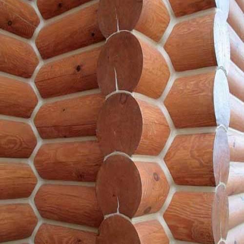 Герметизация сруба, тёплый шов деревянного дома